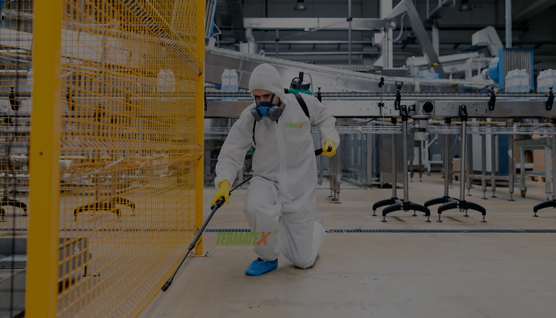 Fabrika Böcek İlaçlama